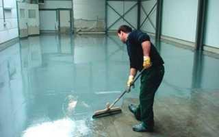 Обработка бетона жидким стеклом