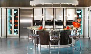 Кухня гостиная в стиле неоклассика