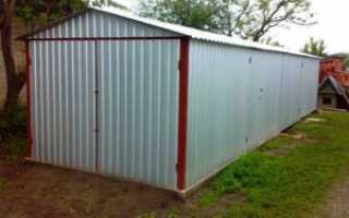 Плюсы и минусы кирпичных и металлических гаражей