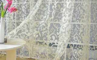 Как правильно сшить шторы из органзы