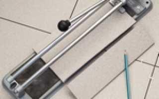 Инструменты и способы резки керамической плитки
