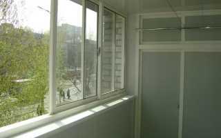 Раздвижные окна на балкон экономия пространства