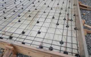 Плитный фундамент особенности вязки арматуры